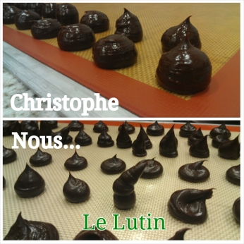 Truffes made of